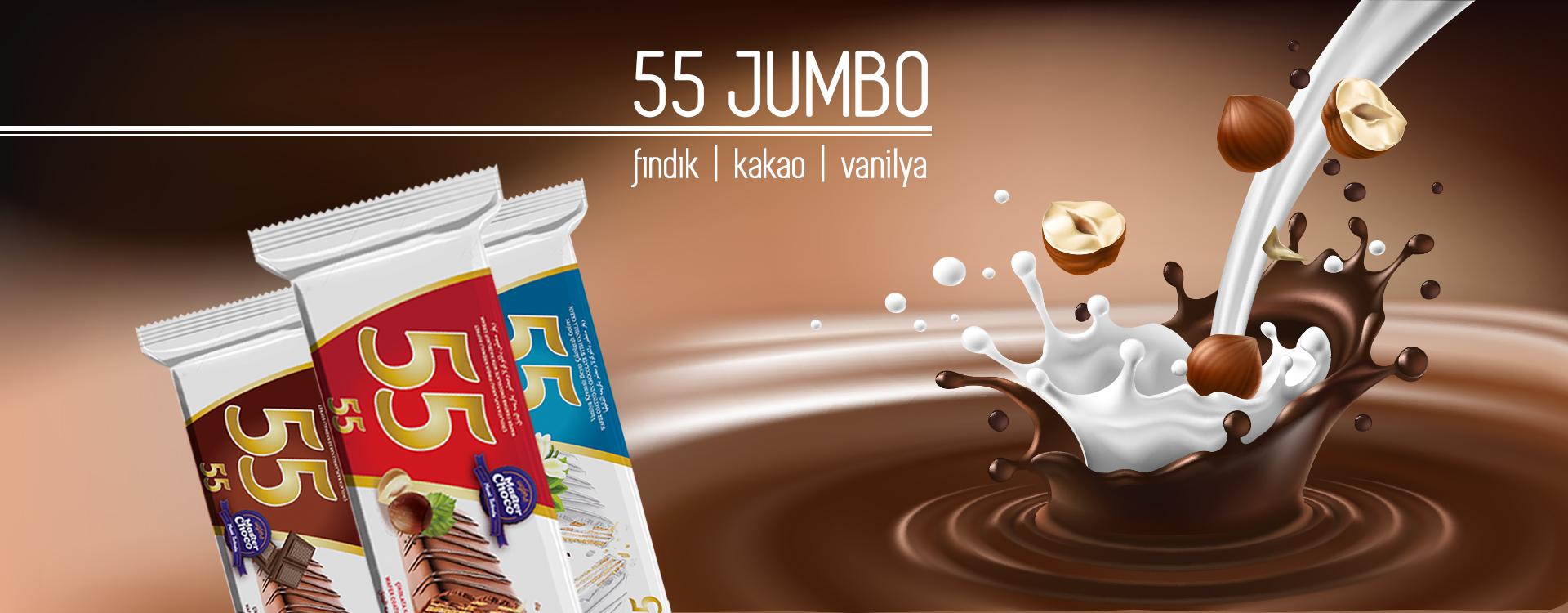 55 jumbo gofret